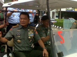 Panglima TNI dan Seluruh Kepala Staf Angkatan Rapat Tertutup