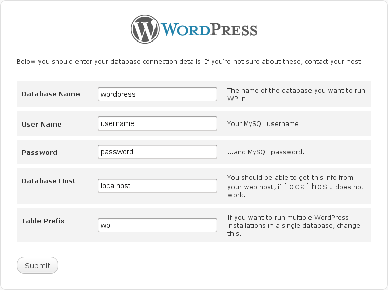Arafa Daming - Wordpress Configuration