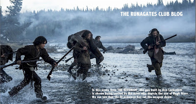 THE REVENANT - the gun used by De Caprio to portray Hugh Glass