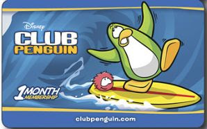 1 Month Club Penguin Membership