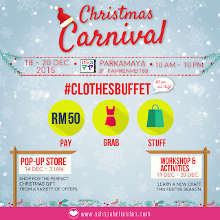 Promotions > Clothes Buffet 2015 – Grab ALL you can with ONE price
