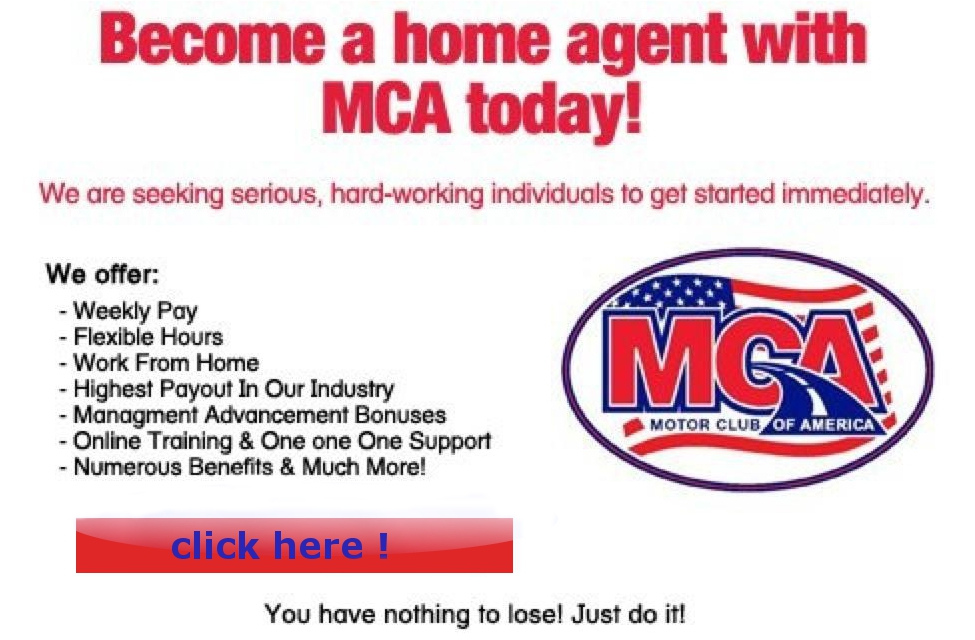 Mca Money Making Opportunity