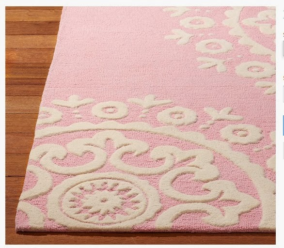 Nat Your Average Girl...: Nursery Rug Dilemma