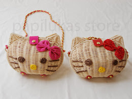 Tas Anyaman Hello Kitty
