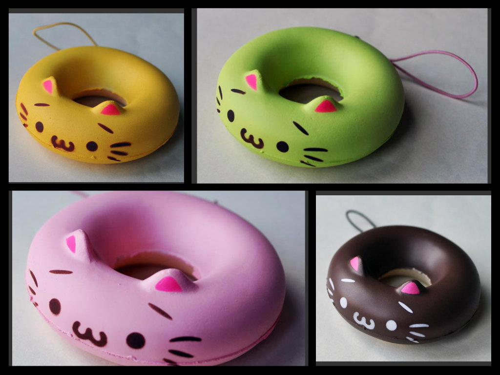 Squishy Donuts Kawaii : KAWA?? BLOGGER: Kawaii doughnut cat squishies