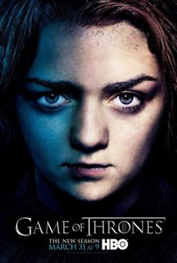 Game Of Thrones cartaz menina