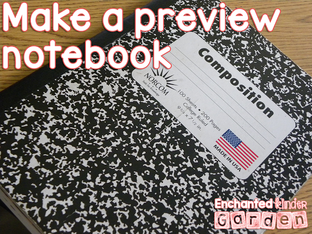Make a Preview Notebook