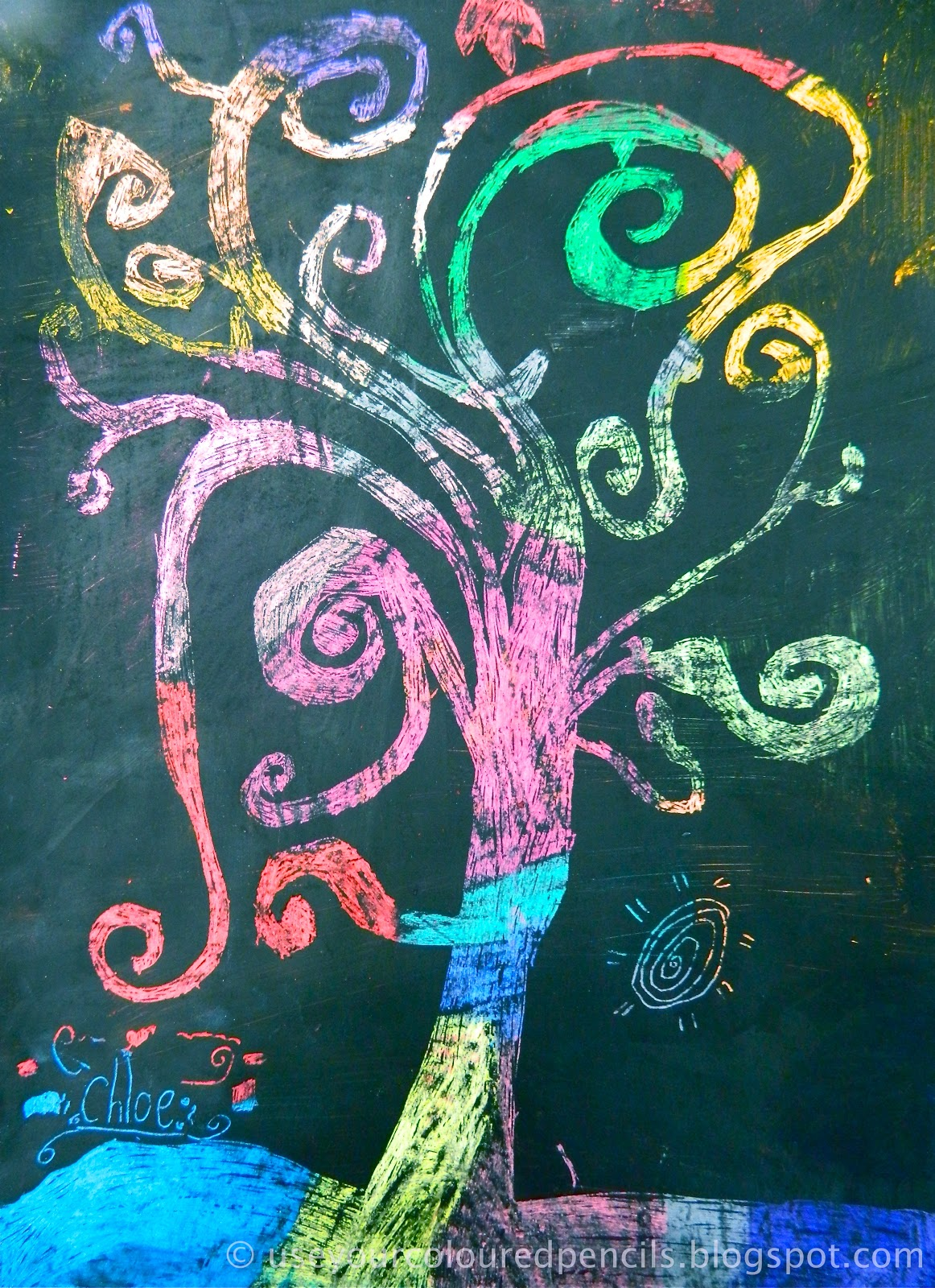 The gallery for --> Scratch Art Ideas For Kids