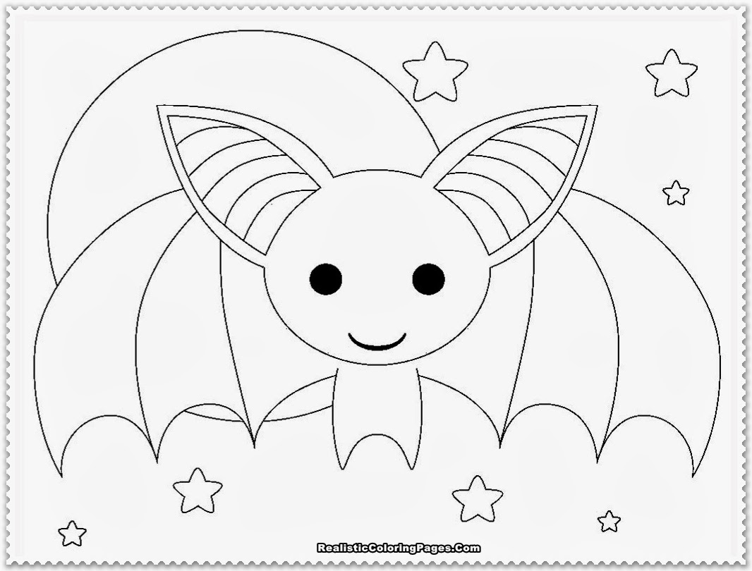 Bat free colouring pages for Printable bat coloring pages