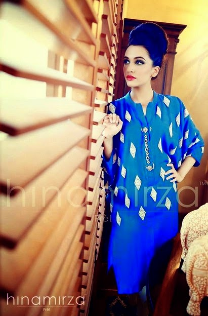 Hina Mirza Summer Dresses Collection for Womens