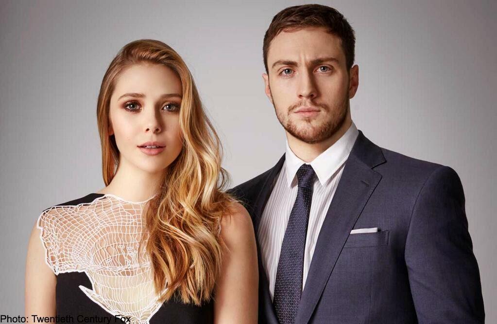 ► Aaron Taylor-Johnson + Elizabeth Olsen | Timber