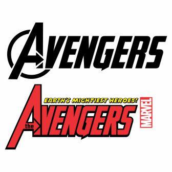 avangers logo cdr vector file