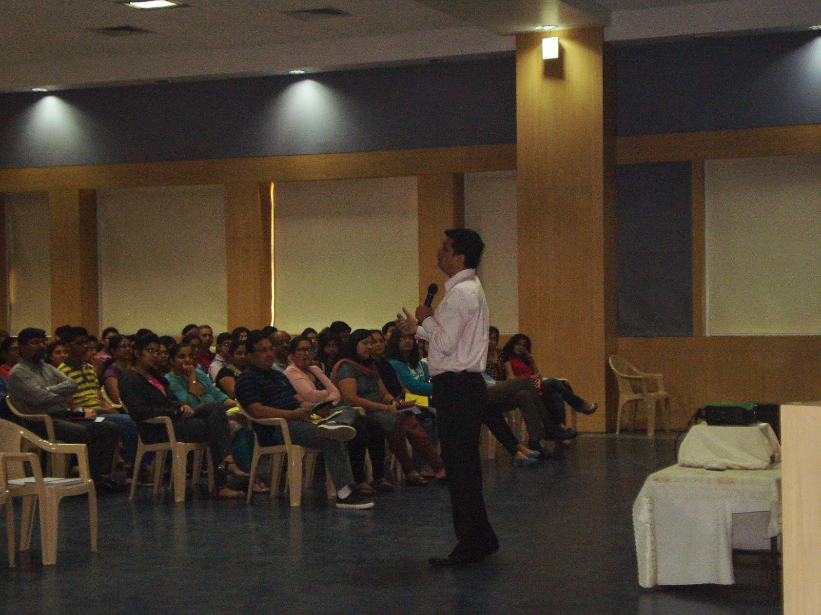 Student and parent counselling session