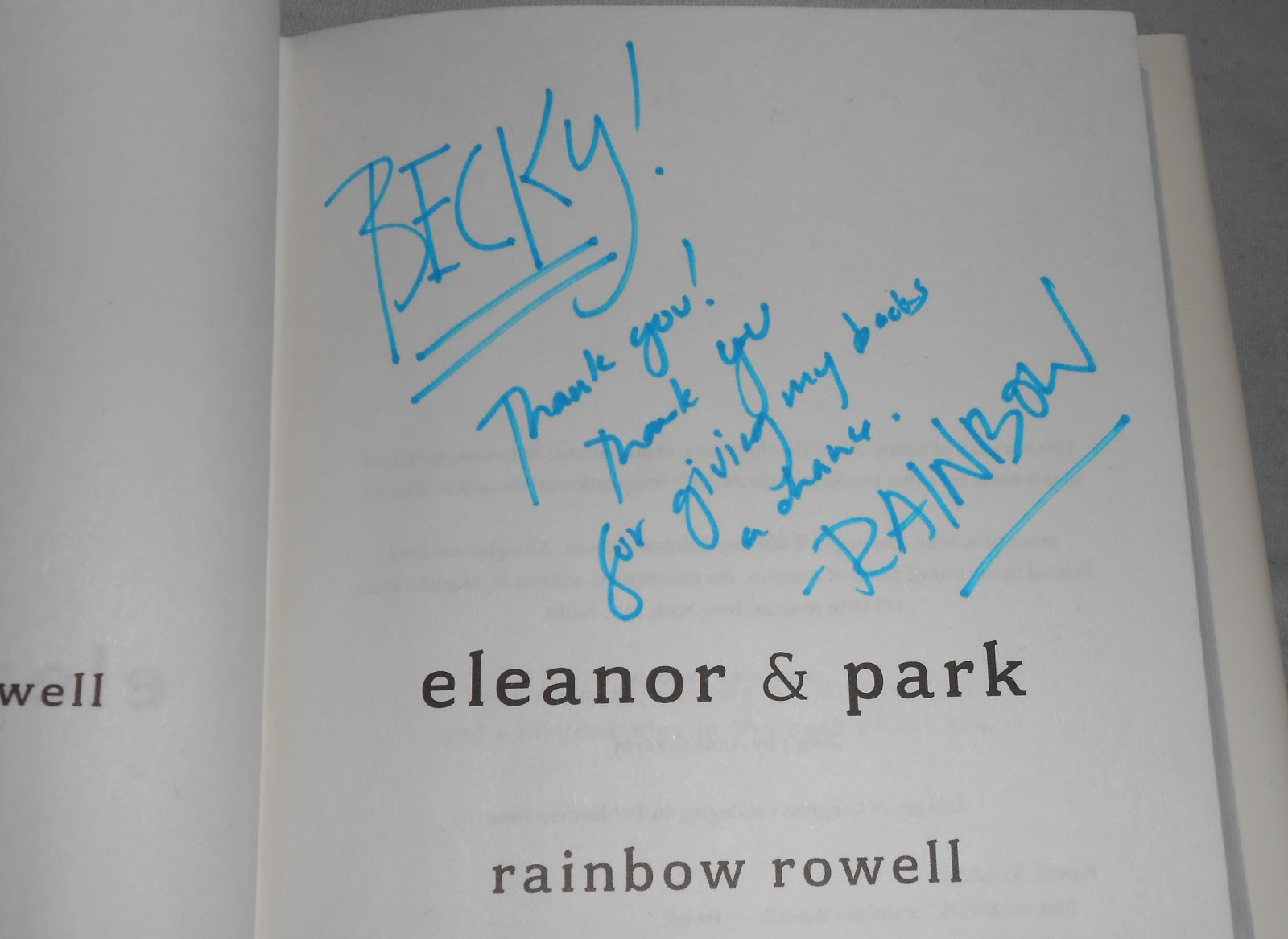 from eleanor and park quotes with page number quotesgram