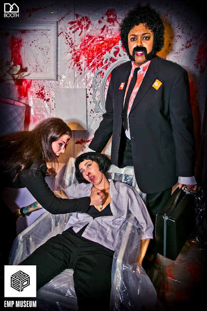 90's Fashionably Undead Prom At Seattle's EMP; Pulp Fiction crew