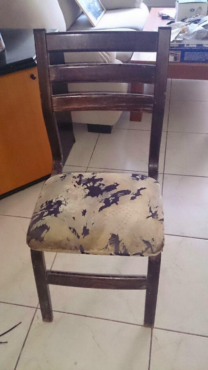 כסא ישן לשיפוץ