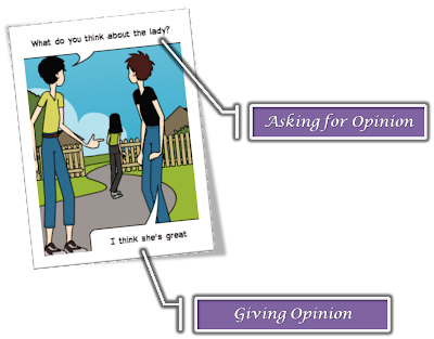 Picture2 percakapan bahasa inggris asking giving opinion