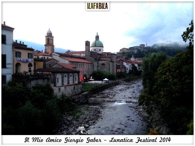 Il Mio Amico Giorgio Gaber - Lunatica Festival 2014 - Orti della Città - Pontremoli - #Lunaticando