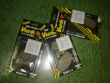 BRAKE PAD ER6N / VERSYS / ZR750 01-05
