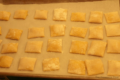 ravioli, ready for water