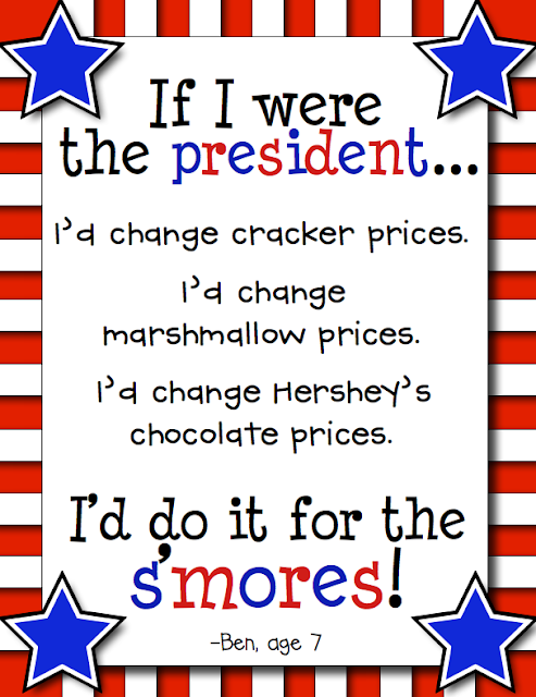 I'd do it for the S'MORES!