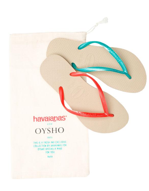 oysho  havaianas colaboracion verano beachwear