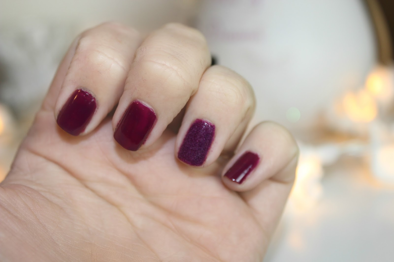 Ciate crushed velvet autumn nails