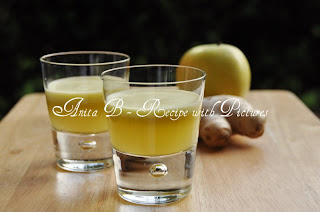 apple ginger shot