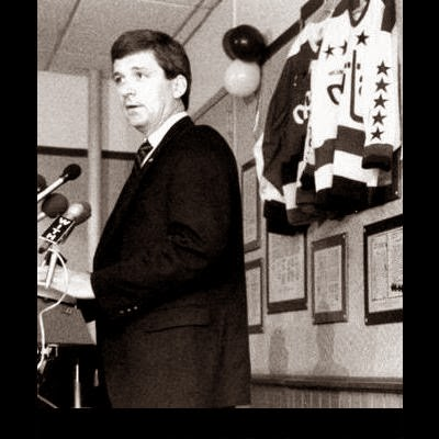 When Terry Murray replaced his older brother Bryan as Capitals coach in 1990 (Book Pg. 254)...