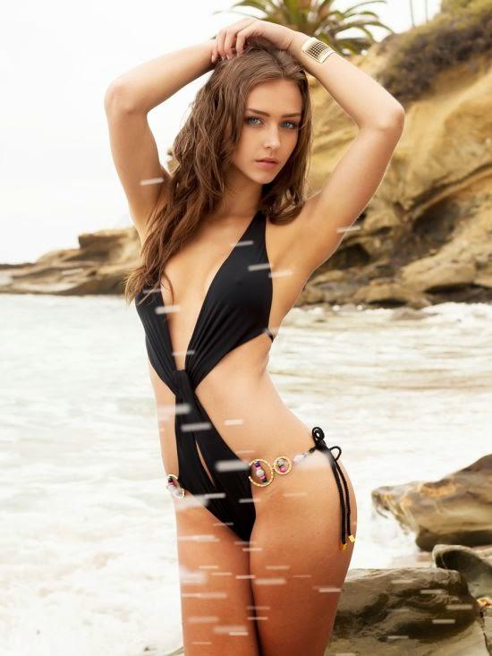 Linda modelo Rachel Cook mulher sensual ensaio fotográfico Jameson Gamble