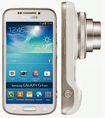 Harga dan Spesifikasi Samsung Galaxy S4 Zoom Terbaru, Kelebihan dan Kekurangannya Detail..!