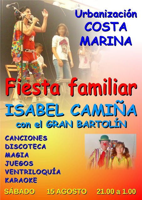 Fiesta familiar en Chipiona