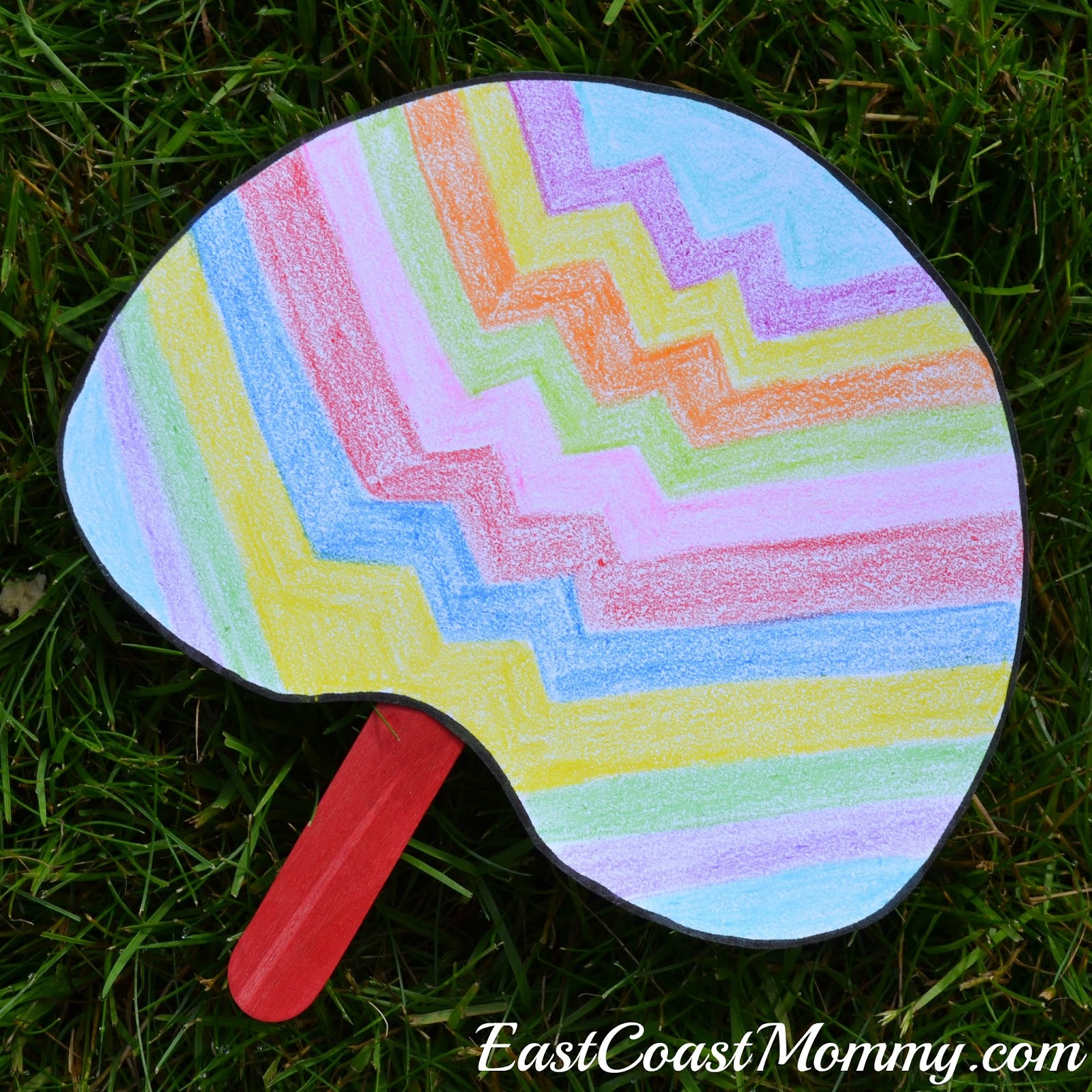 East coast mommy simple summer crafts with free for Simple handicraft project