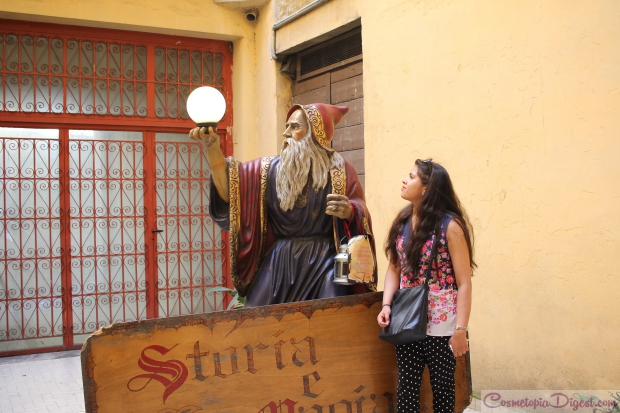 Storia e Magia, tucked away in Via Ottaviano