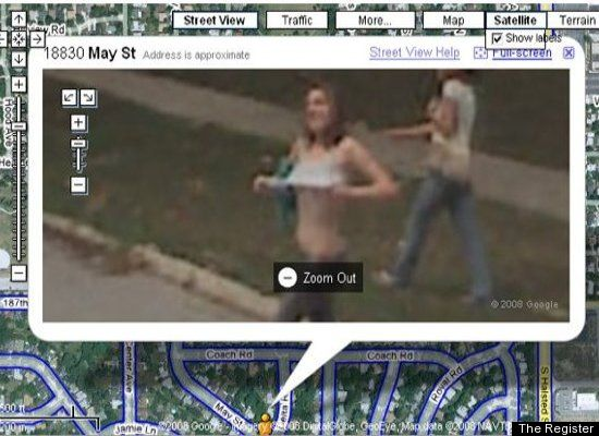 More Images Google Earth Street View Funny