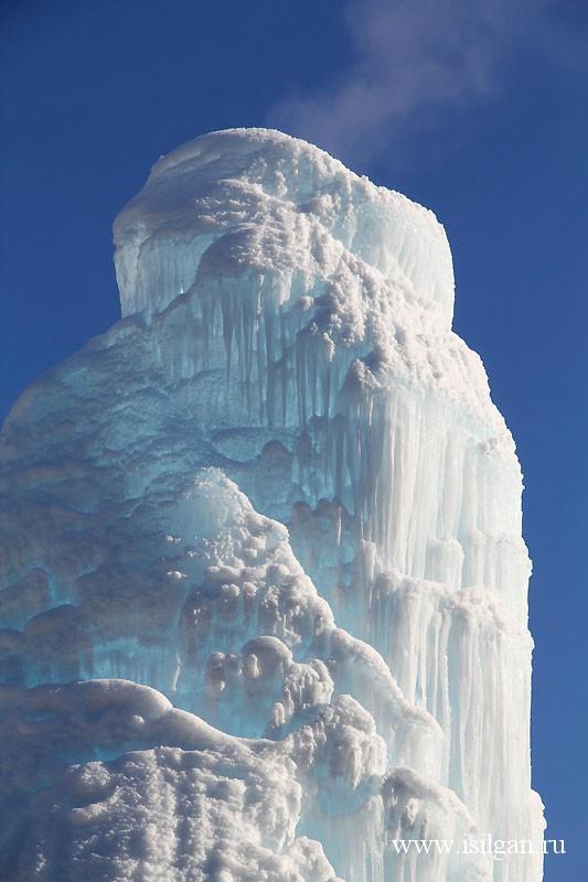 """Ледяной фонтан 2014. Национальный парк """"Зюраткуль"""". Челябинская область"""