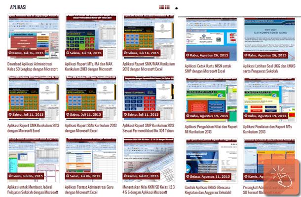 Download Aplikasi dan Administrasi Sekolah Gratis Format Microsoft Excel