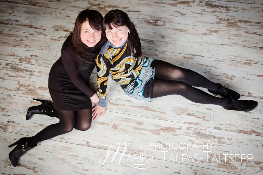 õed pildistamas