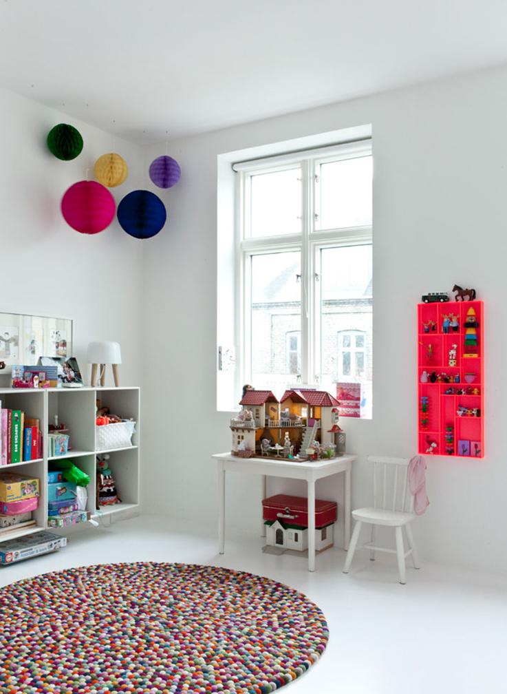 white kids room