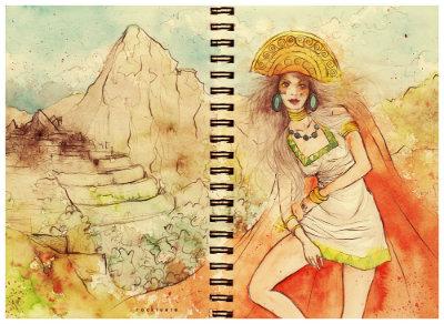 AZTECA /MAIA/INCA/ GODS-DDESS-LEGENDS