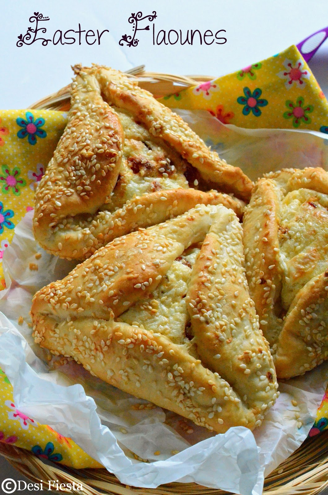 Cyprus Easter Bread