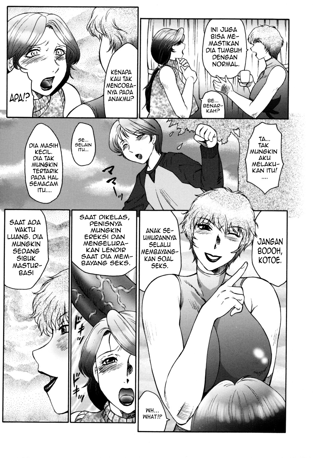 the captive mother and son chapter 1   komik hentai