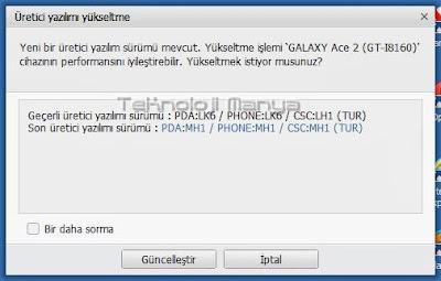 Samsung Galaxy Ace 2 Jelly Bean Türkiye Güncellemesi Çıktı