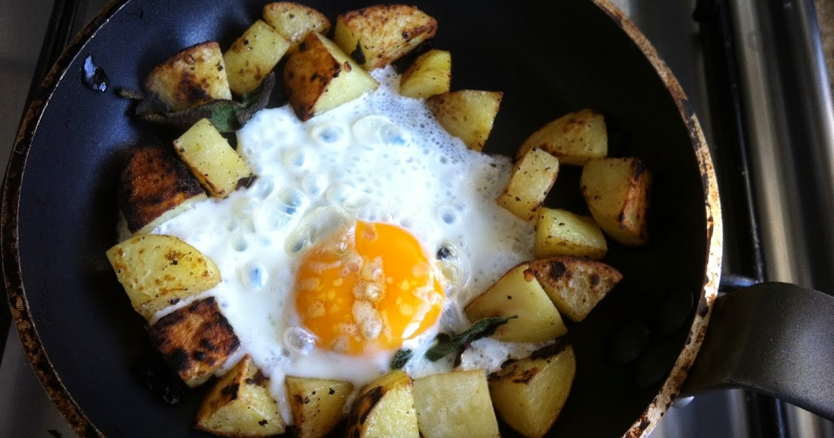 WWDH - Crispy Sage Potatoes with Fried Eggs | Laws of the Kitchen