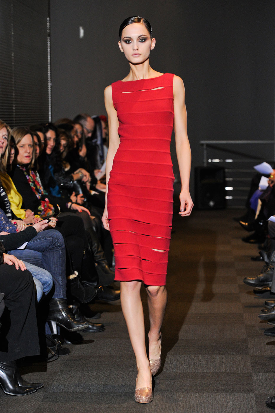 Carmen Marc Valvo Fall/winter 2012 | red trend | inspiration