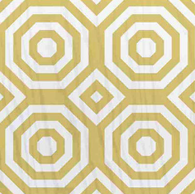 yellow mirth studio painted wood floor tile