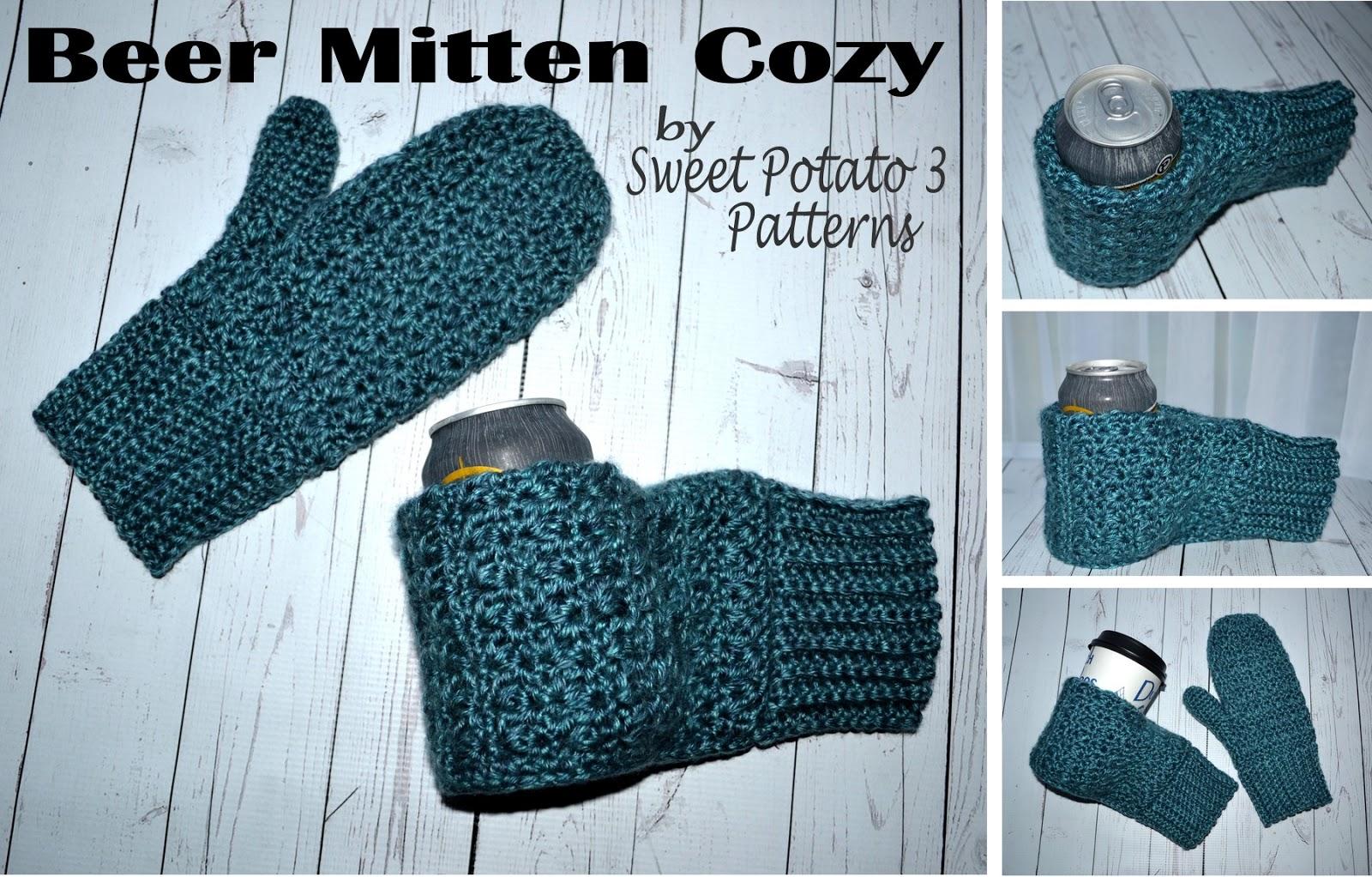 Beer Thirty Mitten Cozy Pattern Sweet Potato 3