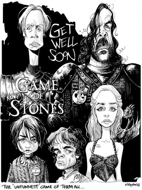 caricaturas juego de tornos - Juego de Tronos en los siete reinos