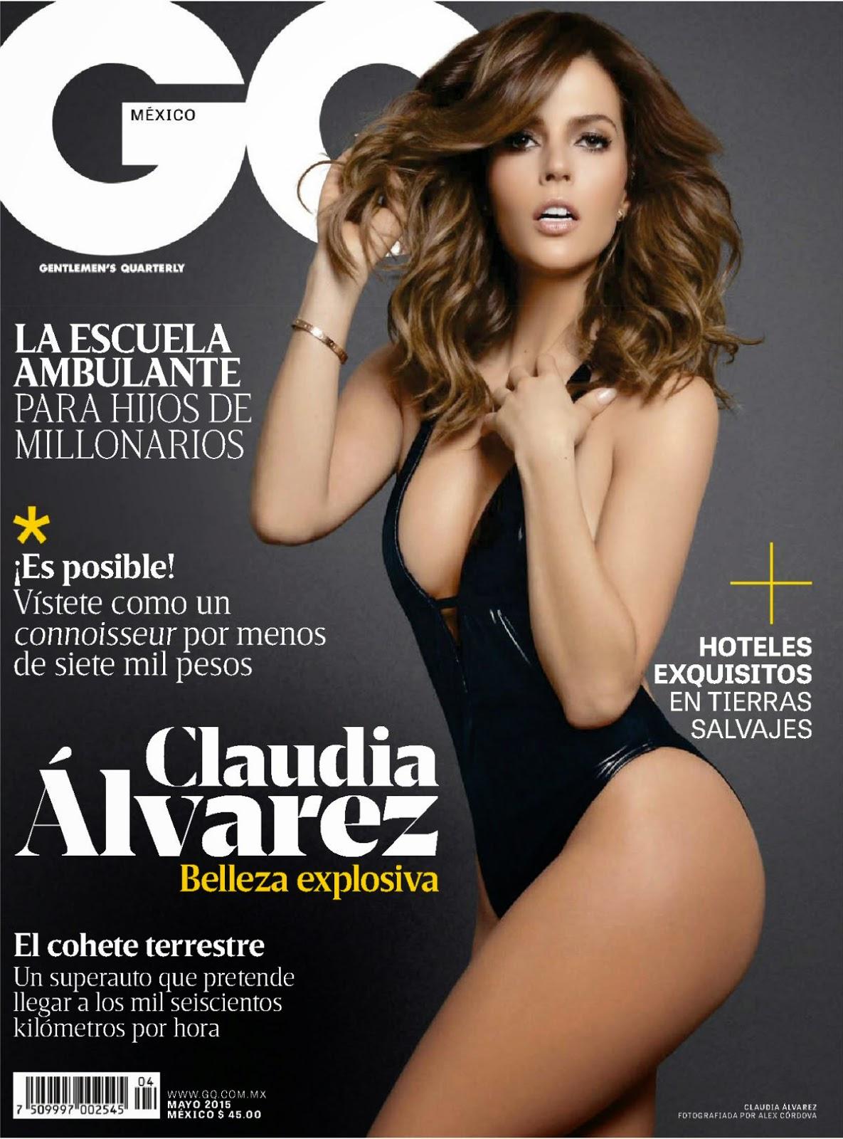 Actress @ Claudia Alvarez - GQ Mexico, May 2015