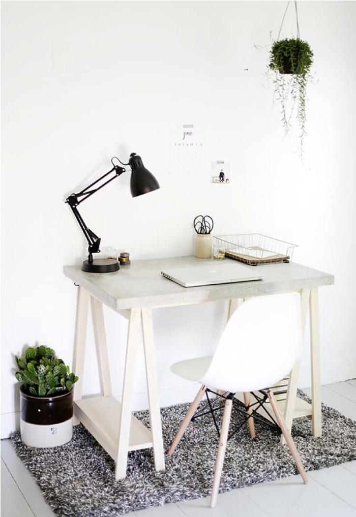 Eccezionale Personalizzare lo spazio studio-lavoro: scrivania fai da te | Blog  TA96